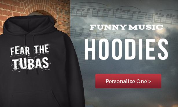 School Music Hoodies